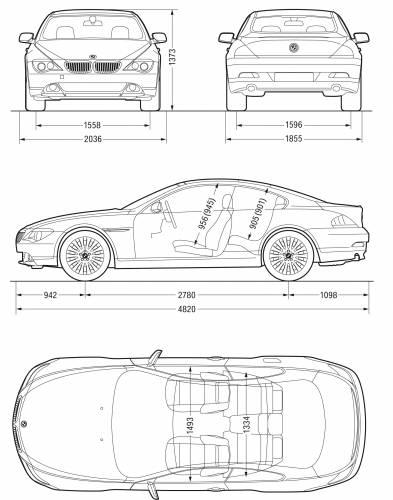 Bmw 6 Series Coupe E63