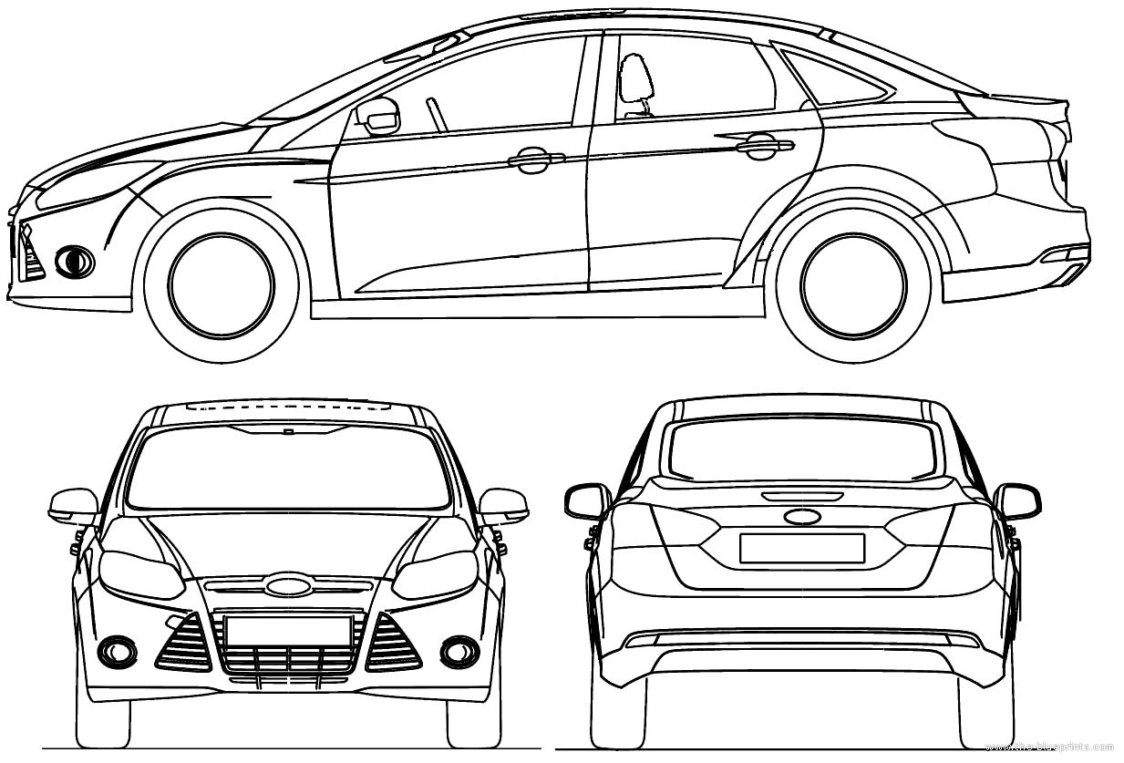 blueprint ford focus