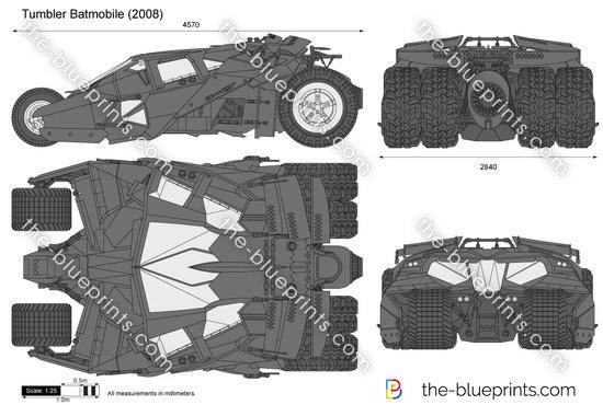 Tumbler interior  Batmobile